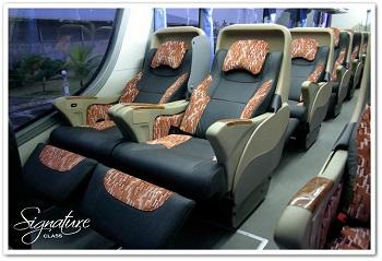 Demi Kenyamanan, Bus AKAP Ini Kursinya Beda dari Biasanya, Gan!