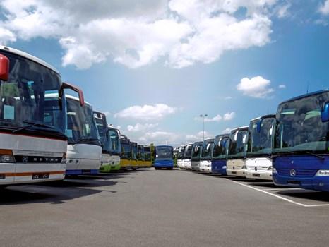Pasar Bus Modern di Eropa