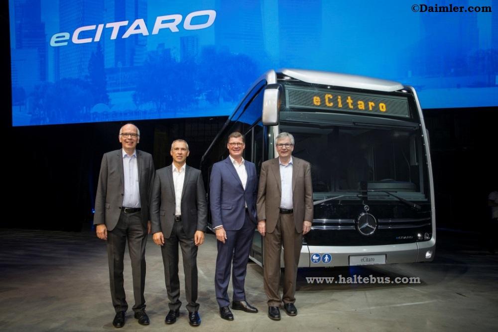 Mercedes-Benz eCitaro, Siap Meluncur