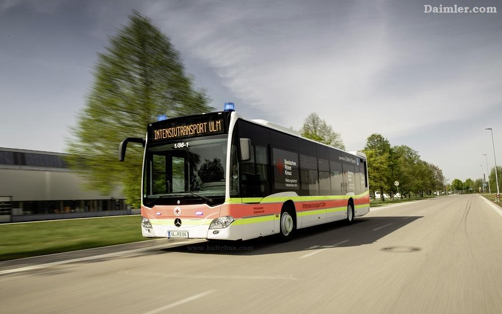 Daimler Sulap Bus Kota Jadi Ambulans