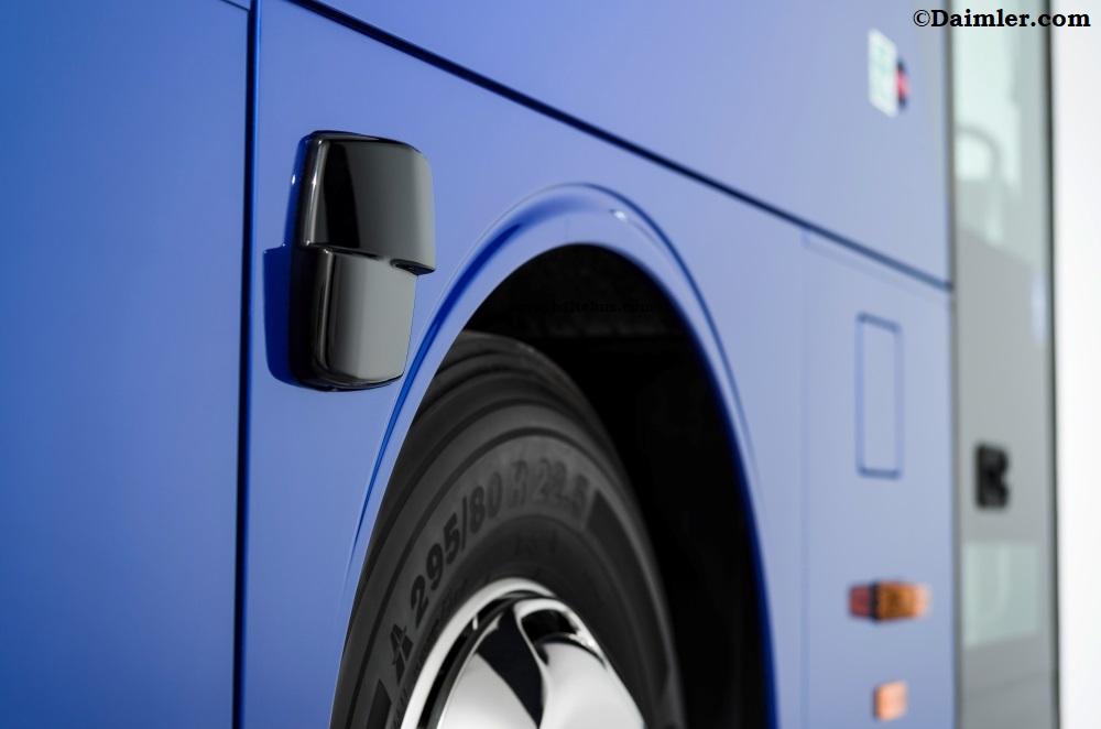 Mercedes-Benz Punya Sistem Pengereman Bus Yang Canggih