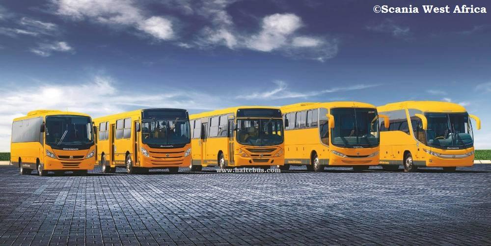 Scania Berkontrak Untuk 450 Unit Bus Kota di Abidjan