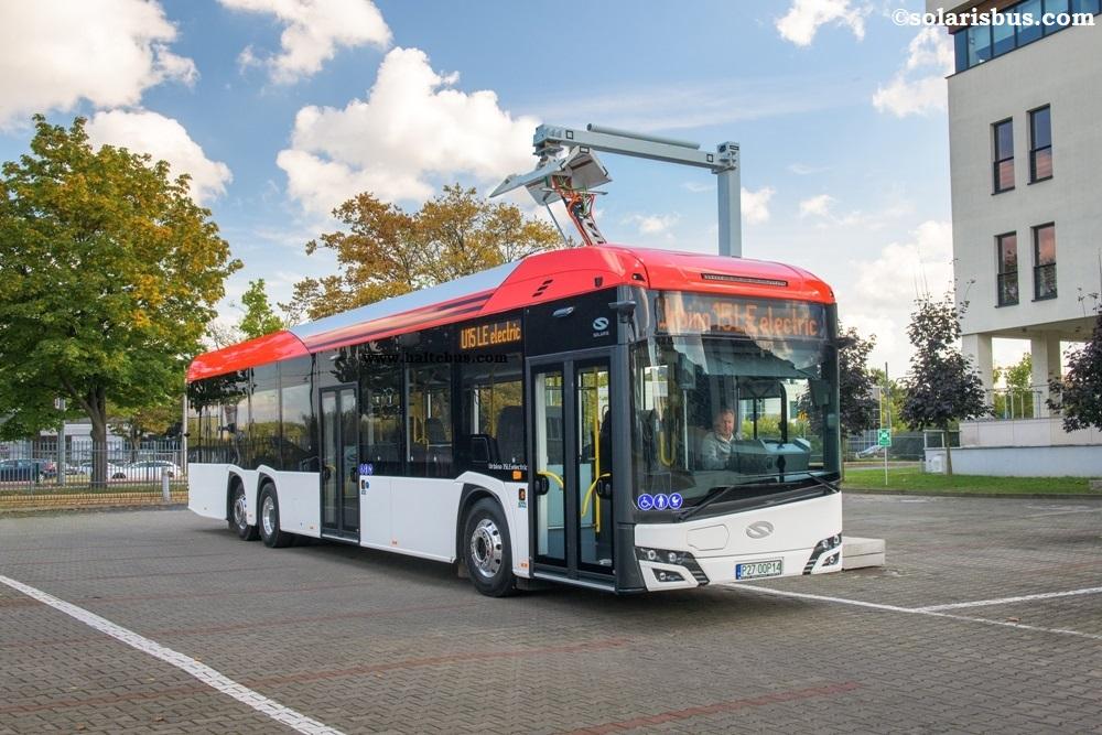 Urbino 15 LE, Bus Listrik 3-axle Solaris Terbaru