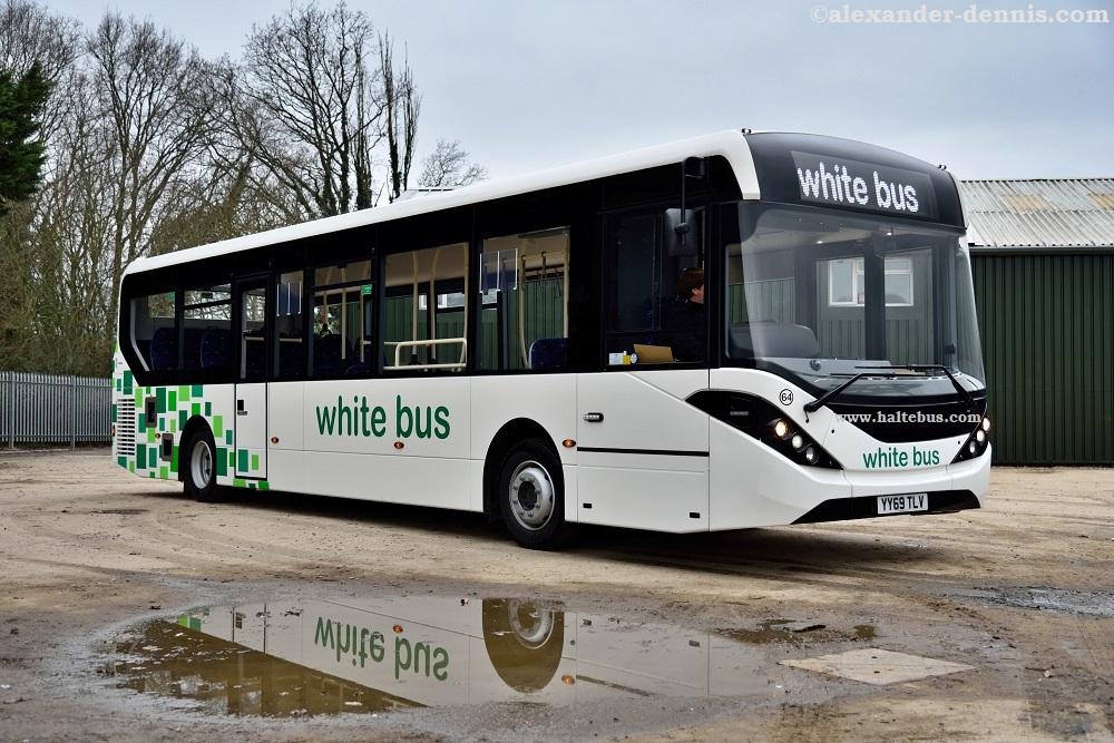White Bus Pilih Enviro200 Untuk Perkuat Layanan