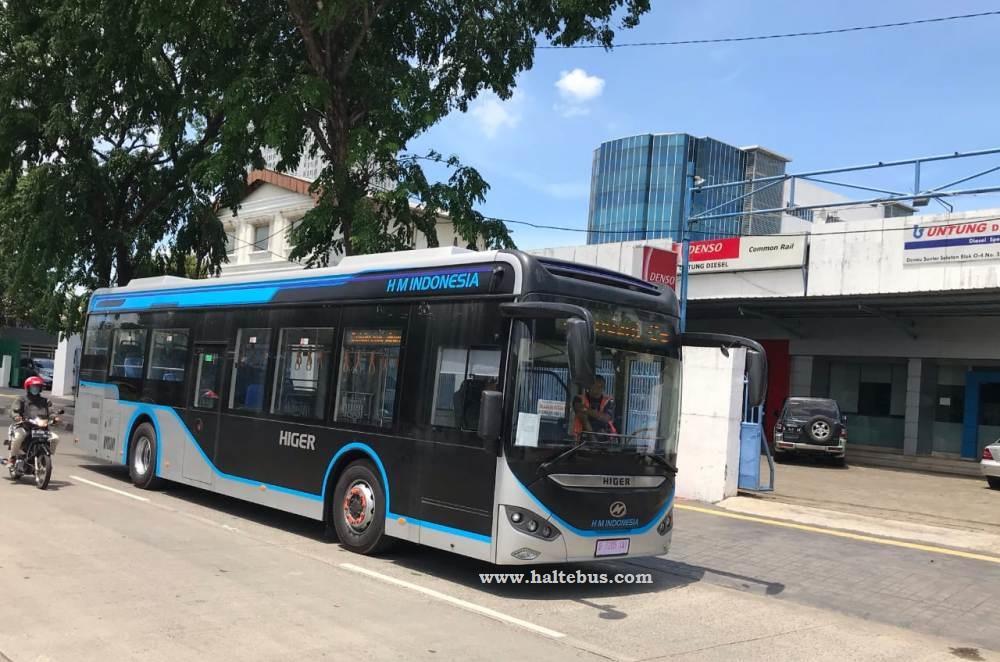 Higer Siapkan Bus Listrik Untuk Jakarta