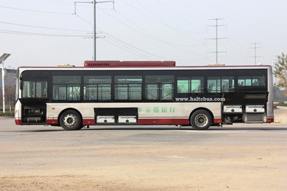 Transjakarta Perkenalkan Salah Satu Contoh Bus Listrik
