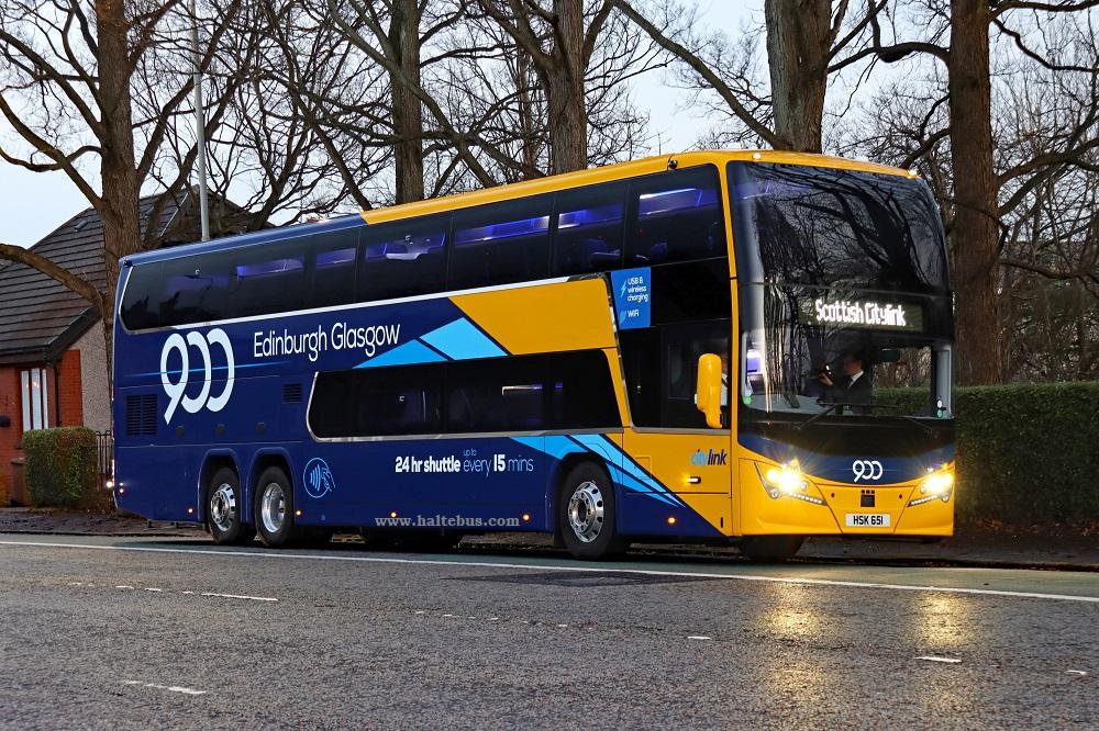 Bus Double Decker Untuk Citylink Express