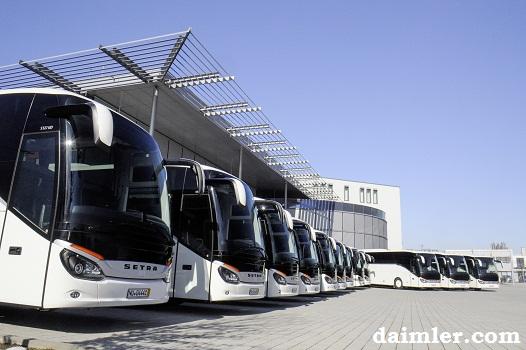 Armada Baru Untuk Tiga Operator Bus di Eropa