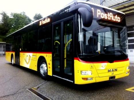 PostBus Swiss Pesan 85 Unit Bus Kota MAN