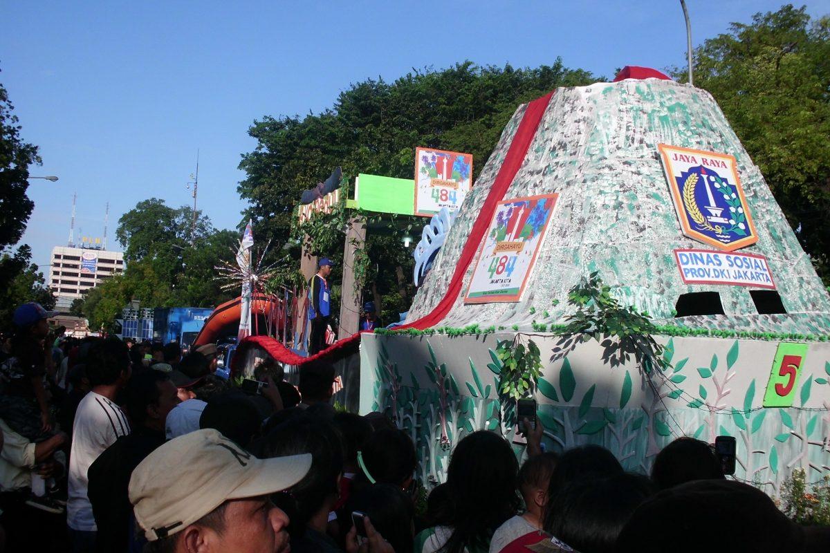Jakarta Karnaval, Meriahkan HUT Jakarta ke-484