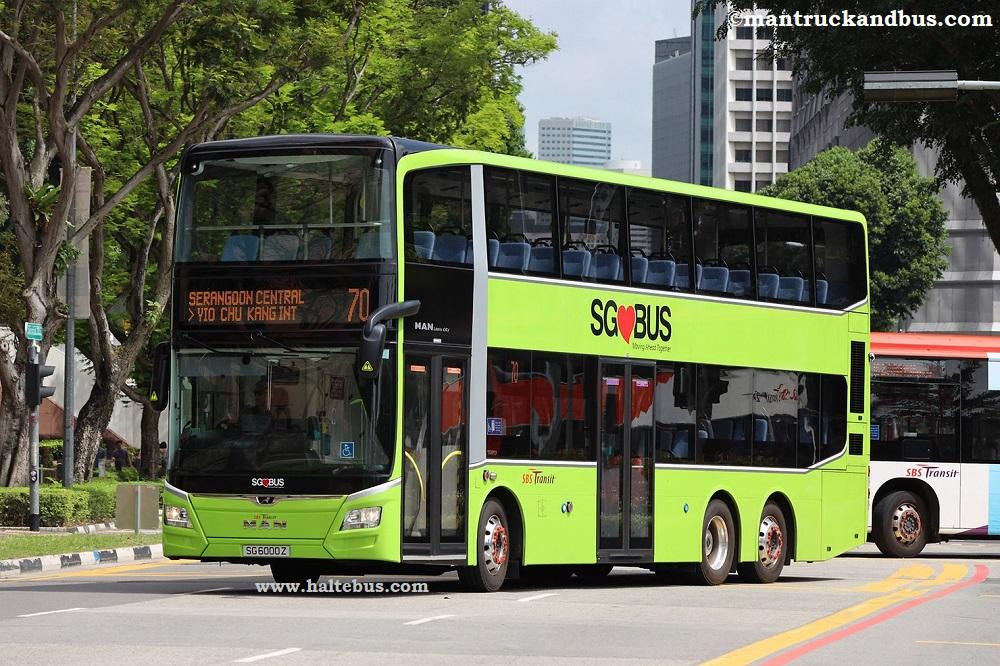 Bus MAN Kini Genap Seribu Unit di Singapura