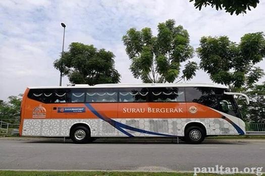 Majelis Ulama Malaysia Terima Bantuan Bus Surau Bergerak