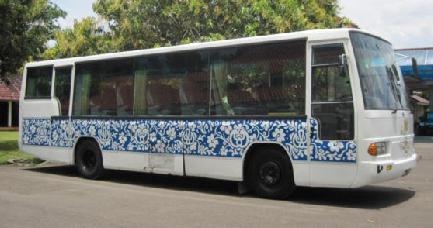 Babak Baru Bus Antik eks TMII