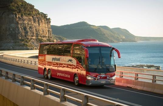 Greyhound Australia Pesan 30 Unit Bus Volvo