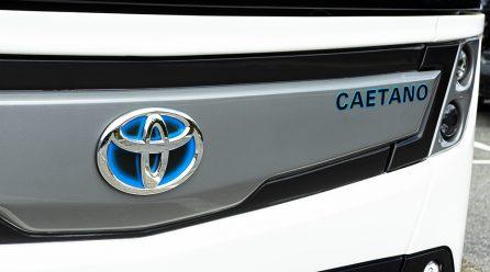 Bus Listrik Toyota Caetano Diluncurkan