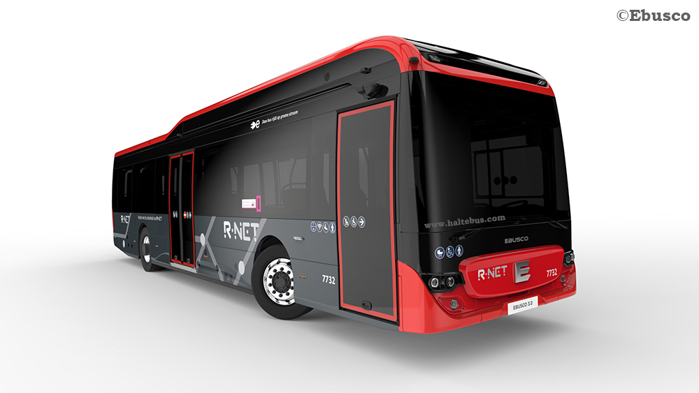 Ebusco Siap Produksi Bus Listrik Komposit