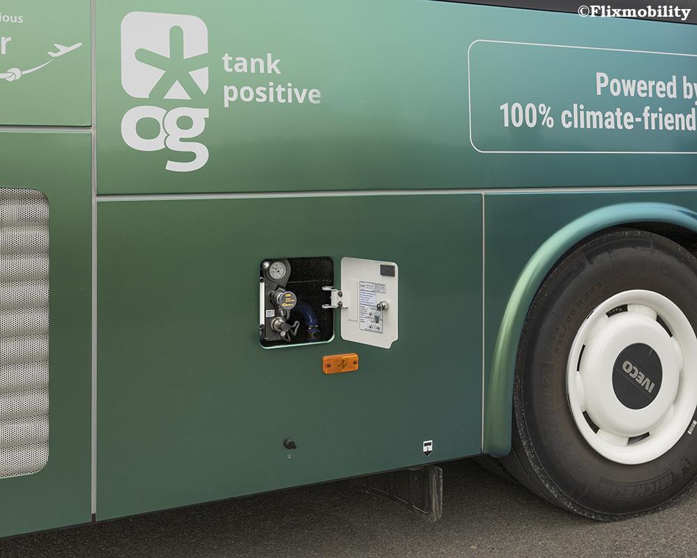 Flixbus Luncurkan Bus Biogas