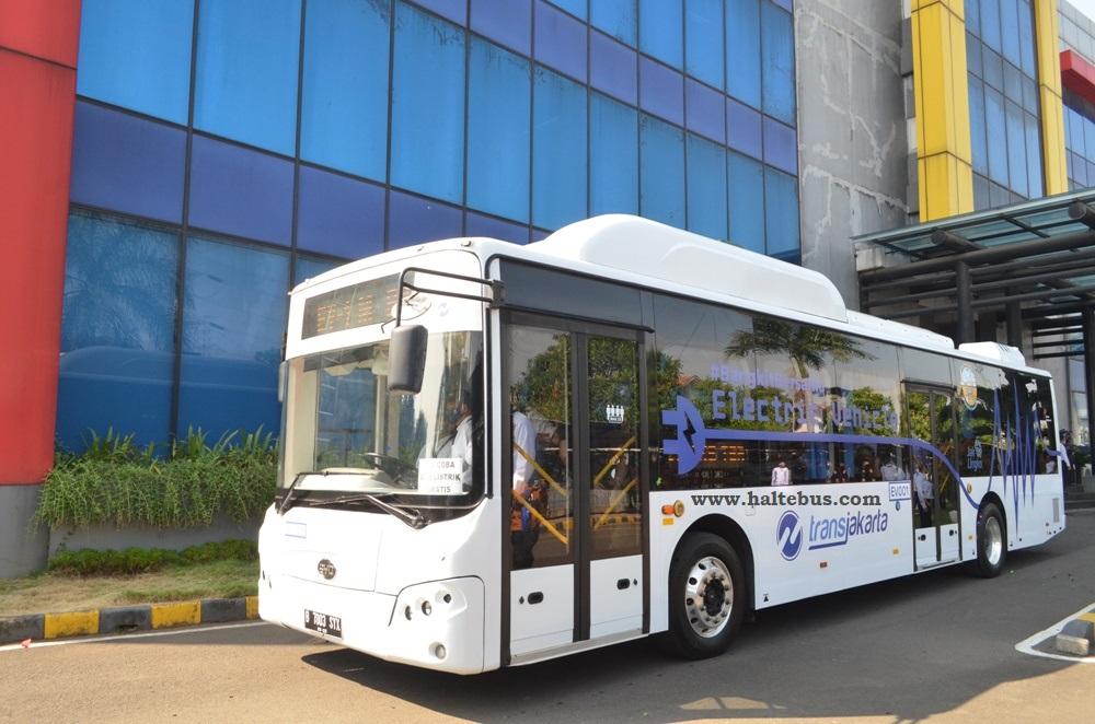 PT. Mayasari Bakti Bersiap Operasikan Bus Listrik