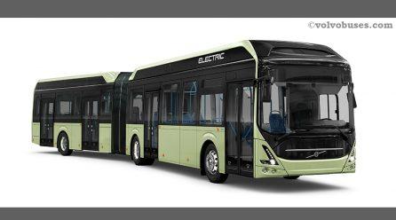 Volvo Bus Terima Tiga Pesanan Besar Bus Listrik di Swedia