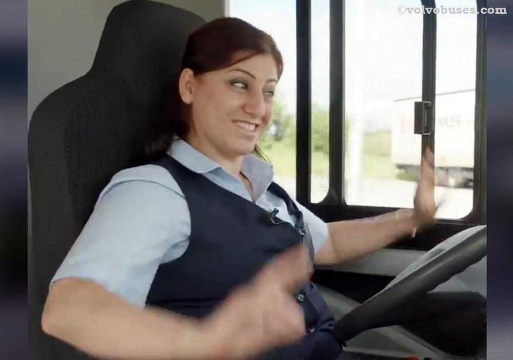 Pengemudi Bus Swedia Merespon Positif Bus Otonom