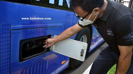 PT. Transjakarta Mulai Ujicoba Bus Listrik Higer